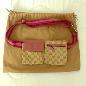 Authentic Gucci waist purse!
